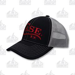 Case Logo Hat Black Gray
