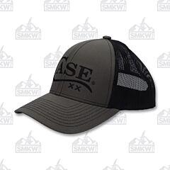 Case Logo Hat Olive Black