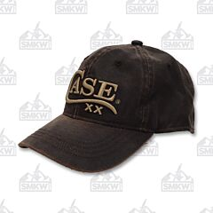 Case Logo Hat Brown