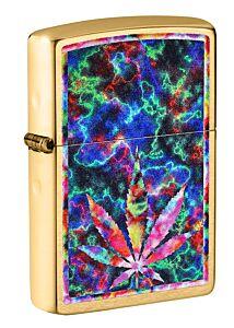 Zippo Psychedelic Leaf Lighter
