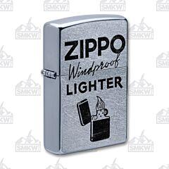 Zippo Street Chrome Zippo Windproof Design Lighter