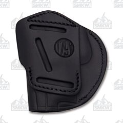 1791 Gunleather 4 Way 4WH-5 Stealth Black Right Carry Concealment & Belt Leather IWB & OWB Holster