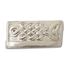 Swan Lake Knives Nickel Silver Celtic Knot Bolster 29MM Model 500613N