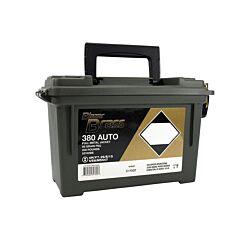 CCI Blazer Brass 380 ACP 95 Grain Full Metal Jacket 200 Rounds