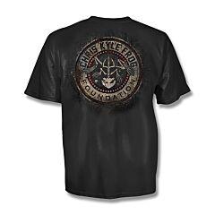 Chris Kyle Frog Foundation Gritty Distressed T-Shirt - Medium