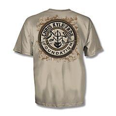 Chris Kyle Frog Foundation Sand T-Shirt - XXL