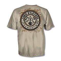 Chris Kyle Frog Foundation Sand T-Shirt - Medium