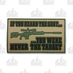 5ive Star Gear Morale Patch If You Heard the Shot Patch