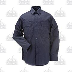 5.11 Taclite Pro Long Sleeve Shirt - Navy Blue - Small
