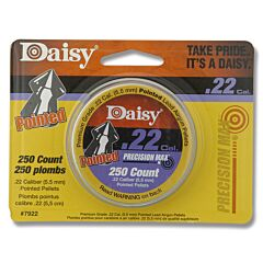 Daisy .22 Caliber (5.5mm) 250ct Pointed Nose Pellet Tin