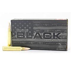 Hornady Black 223 Remington 62 Grain Full Metal Jacket 20 Rounds