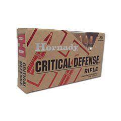 Hornady Critical Defense 223 Remington 55 Grain Flex Tip Expanding 20 Rounds