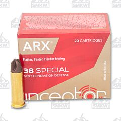Inceptor Preferred Defense 38 Special 77 Grain ARX 20 Rounds