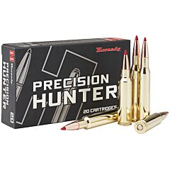 Hornady Precision Hunter 270 Winchester 145 Grain Polymer Tip Boat Tail 20 Rounds