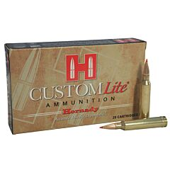 Hornady Custom LIte 7mm Remington 139 Grain SST Polymer Tip Boat Tail 20 Rounds