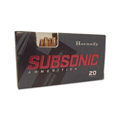 Hornady Subsonic 300 AAC Blackout 190 Grain Sub-X Subsonic Flex Tip Expanding 20 Rounds