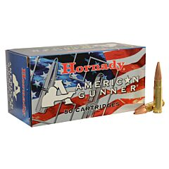 Hornady American Gunner 300 AAC Blackout 125 Grain Jacketed Hollow Point 50 Rounds