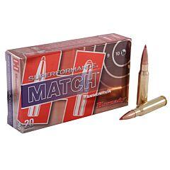 Hornady Superformance Match 308 Winchester 168 Grain A-Max Polymer Tip 20 Rounds
