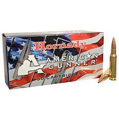 Hornady American Gunner 308 Winchester 155 Grain Hollow Point Boat Tail 50 Rounds