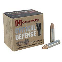 Hornady Critical Defense 30 Carbine 110 Grain Flex Tip Expanding 25 Rounds