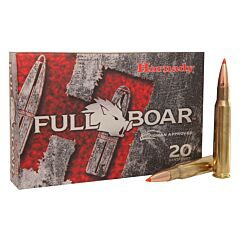Hornady Full Boar 30-06 Springfield 165 Grain Polymer Tip 20 Rounds