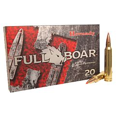 Hornady Full Boar 300 Winchester Magnum 165 Grain GMX Polymer Tip Boat Tail 20 Rounds