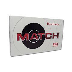 Hornady Match 300 Winchester Magnum 195 Grain ELD Match Polymer Tip 20 Rounds