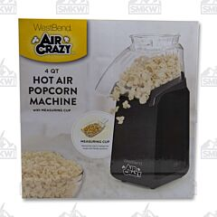 West Bend Air Crazy 4 Quart Popcorn Popper