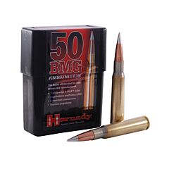 Hornady Match 50 BMG 750 Grain A-Max Boat Tail 10 Rounds