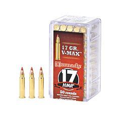 Hornady Varmint Express 17 Hornady Magnum Rimfire 17 Grain V-Max 50 Rounds