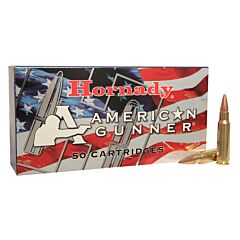 Hornady American Gunner 6.8mm Remington SPC 110 Grain Jacketed Hollow Point Boat Tail 50 Rounds