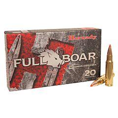 Hornady Full Boar 6.8mm Remington SPC 100 Grain GMX Boat Tail Lead Free 20 Rounds
