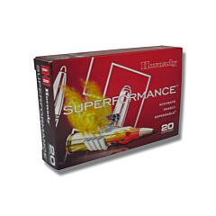 Hornady Superformance SST 6.5x55mm Swedish Mauser 140 Grain Polymer Tip 20 Rounds