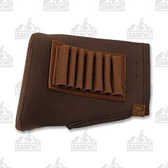 AA&E Leathercraft Rifle Neoprene Recoil Pad Brown