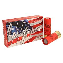 "Hornady American Whitetail 12 Gauge 2-3/4"" 1oz Rifled Slug 5 Rounds"