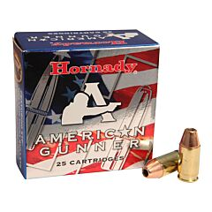 Hornady American Gunner 380 ACP 90 Grain Jacketed Hollow Point 25 Rounds