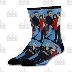 Oooh Yeah! 90210 Cast Members Men's Crew Socks