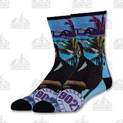 Oooh Yeah! 90201 Forever Dylan Men's Crew Socks