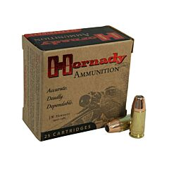 Hornady Custom 9mm Luger 147 Grain XTP Jacketed Hollow Point 25 Rounds