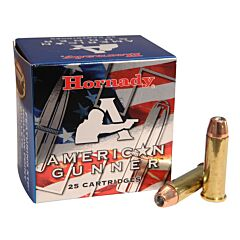 Hornady American Gunner 38 Special 125 Grain XTP Jacketed Hollow Point 25 Rounds