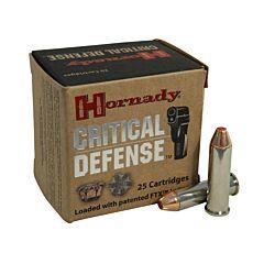 Hornady Critical Defense 357 Magnum 125 Grain Flex Tip Expanding 25 Rounds