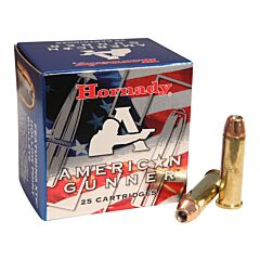 Hornady American Gunner 357 Magnum 125 Grain XTP Jacketed Hollow Point 25 Rounds