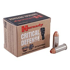 Hornady Critical Defense 44 Special 165 Grain Flex Tip Expanding 20 Rounds