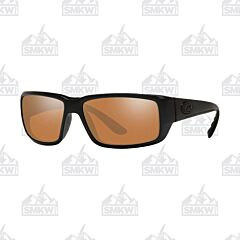 Costa Fantail Matte Black Sunglasses Copper Mirror