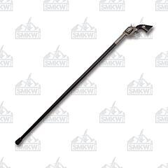 "Szco 37.5"" Gun Walking Cane Sword"