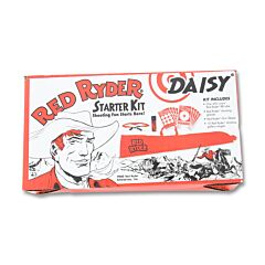 Daisy Red Ryder Starter Kit with BB Tube Shooting Glasses Gun Sleeve and Gallery Targets 99163304