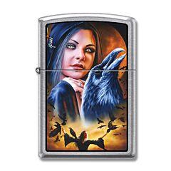 Zippo Mazzie Raven Lighter