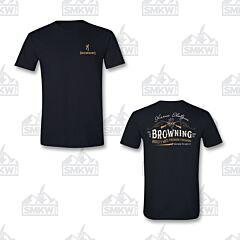Browning Men's Vintage Cross Guns T-Shirt Black