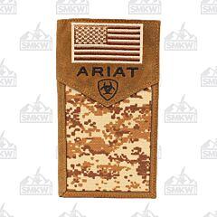 Ariat  Men's Patriot Digital Camo Rodeo Wallet