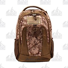 Ariat Digital Camo Backpack with USA Flag